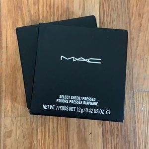 MAC Select Sheer / Pressed NC 25